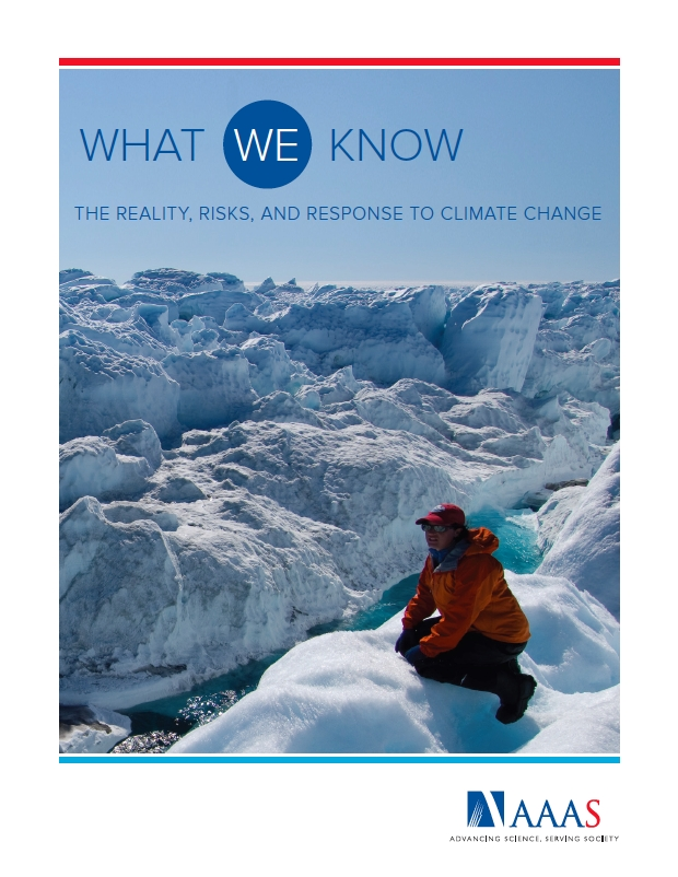 Cover of the March 2014 AAAS report, What We Know