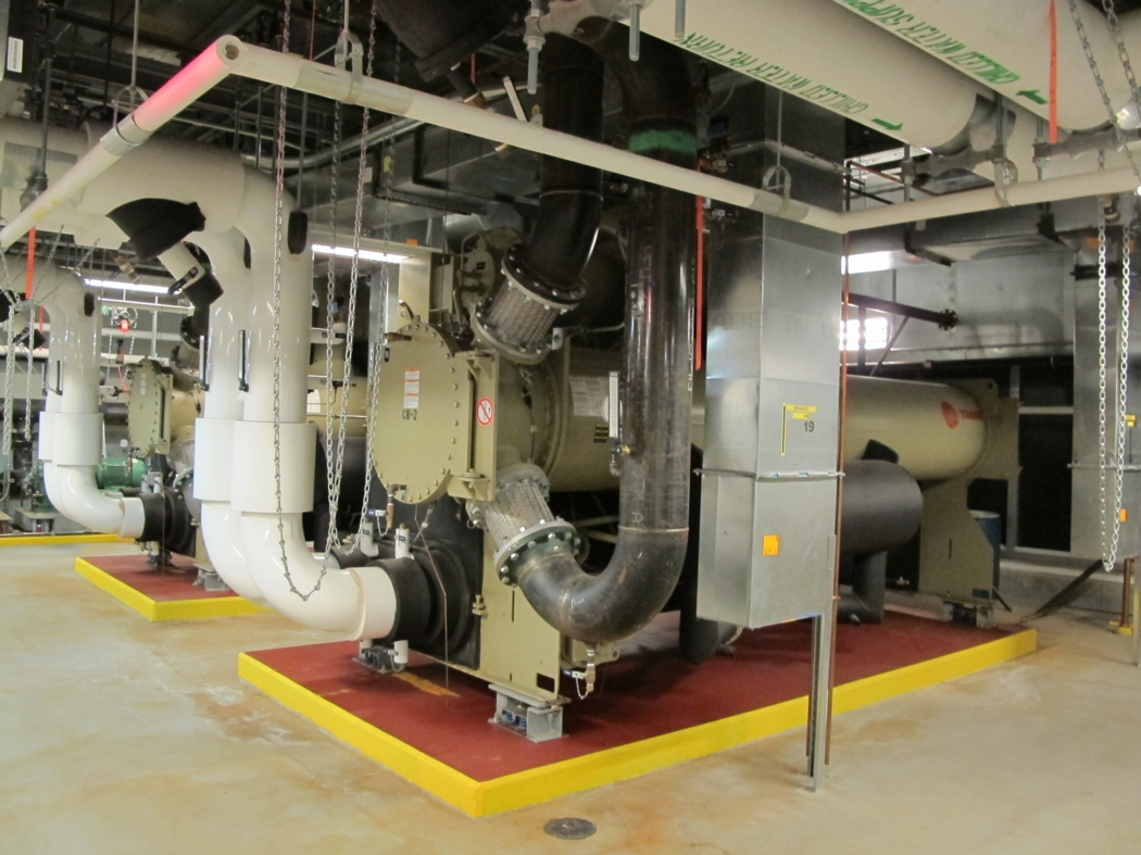 cooling (economizer) system provides most of the winter cooling load #AC961F