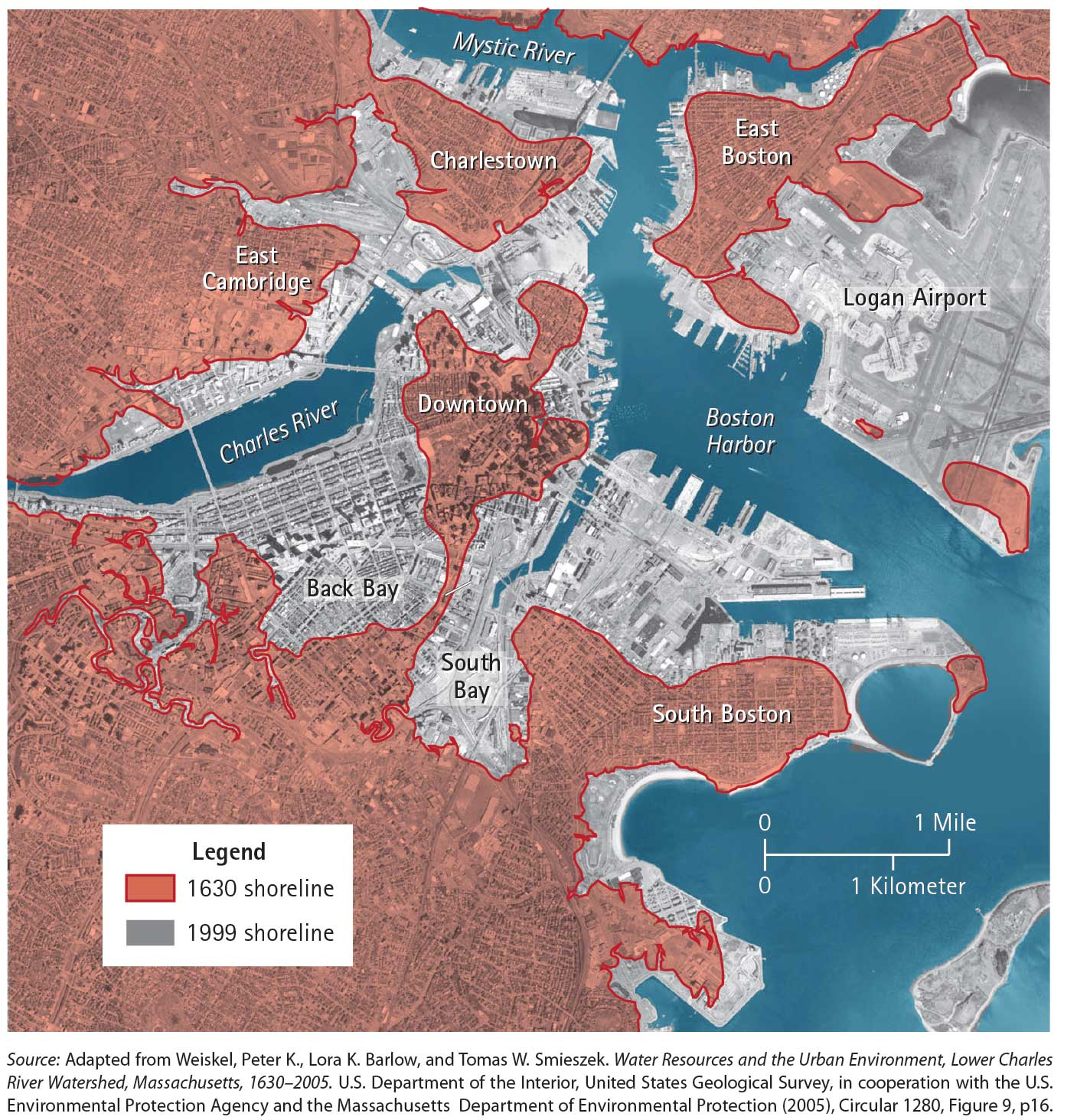 A Bold Idea For Addressing Sea Level Rise Resilient Design Institute - Sea level elevation map by address