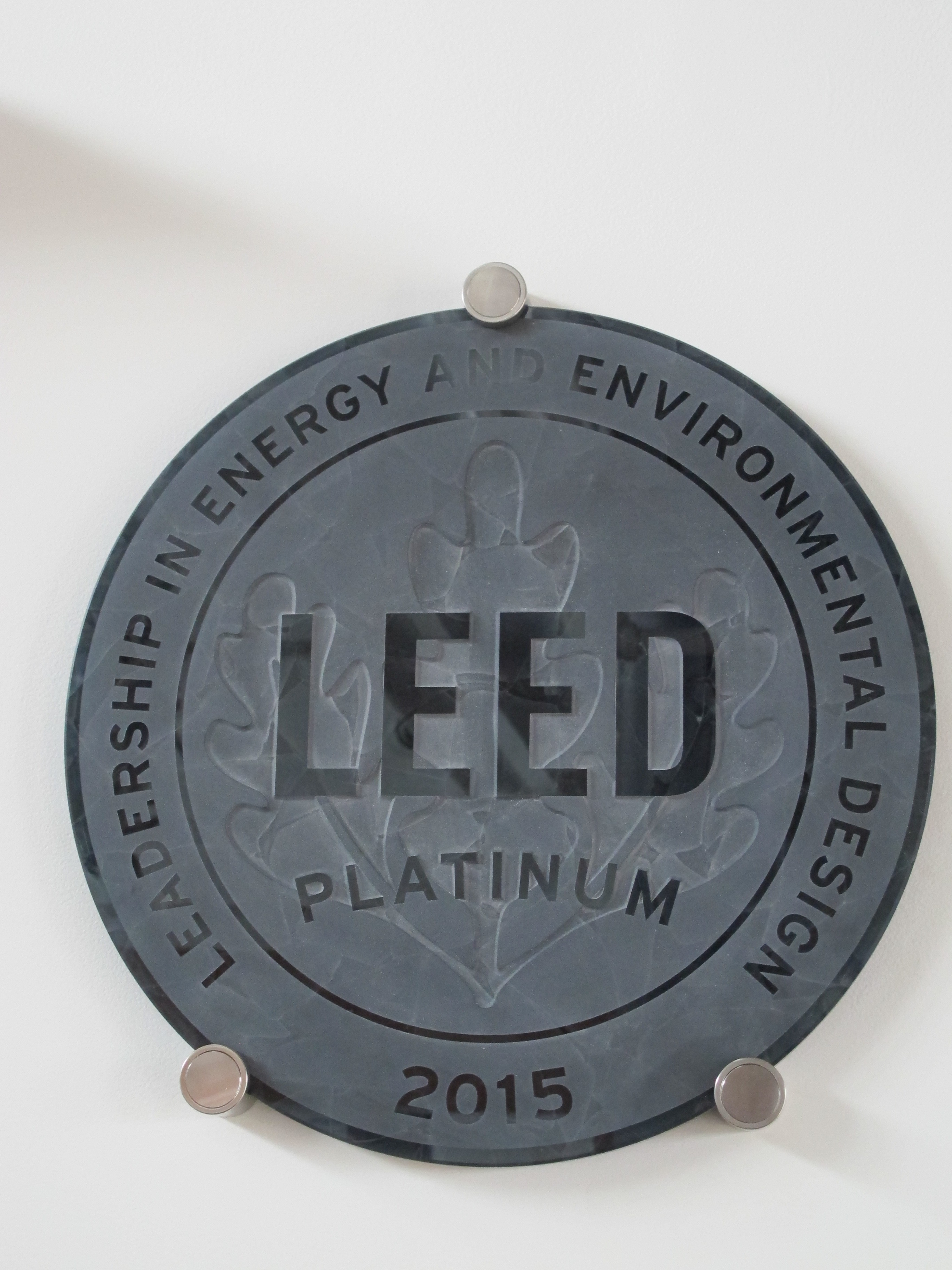 U s green building council establishing a resilience for Platinum leed certification